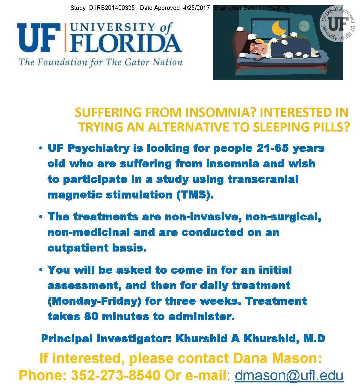 insomnia clinical trial