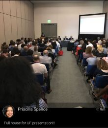 Standing Room Only at the Sleep Presentation
