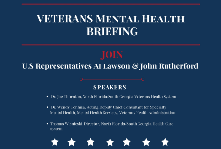 Veterans Mental Health BrThornton DC Veterans Mental Healthiefing flier