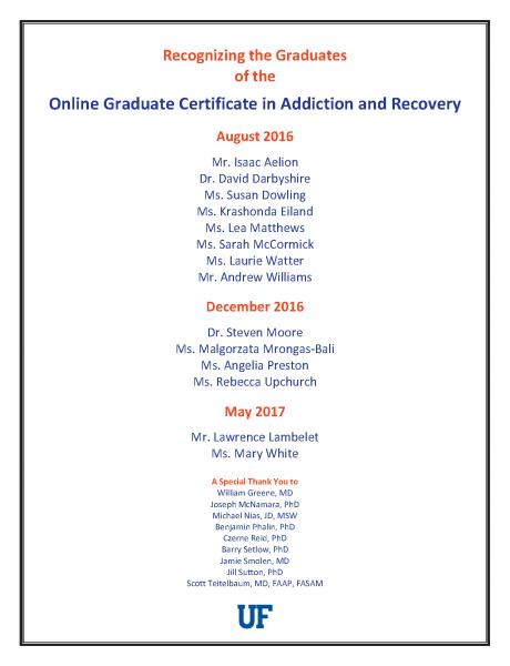 Online Graduate Certificate