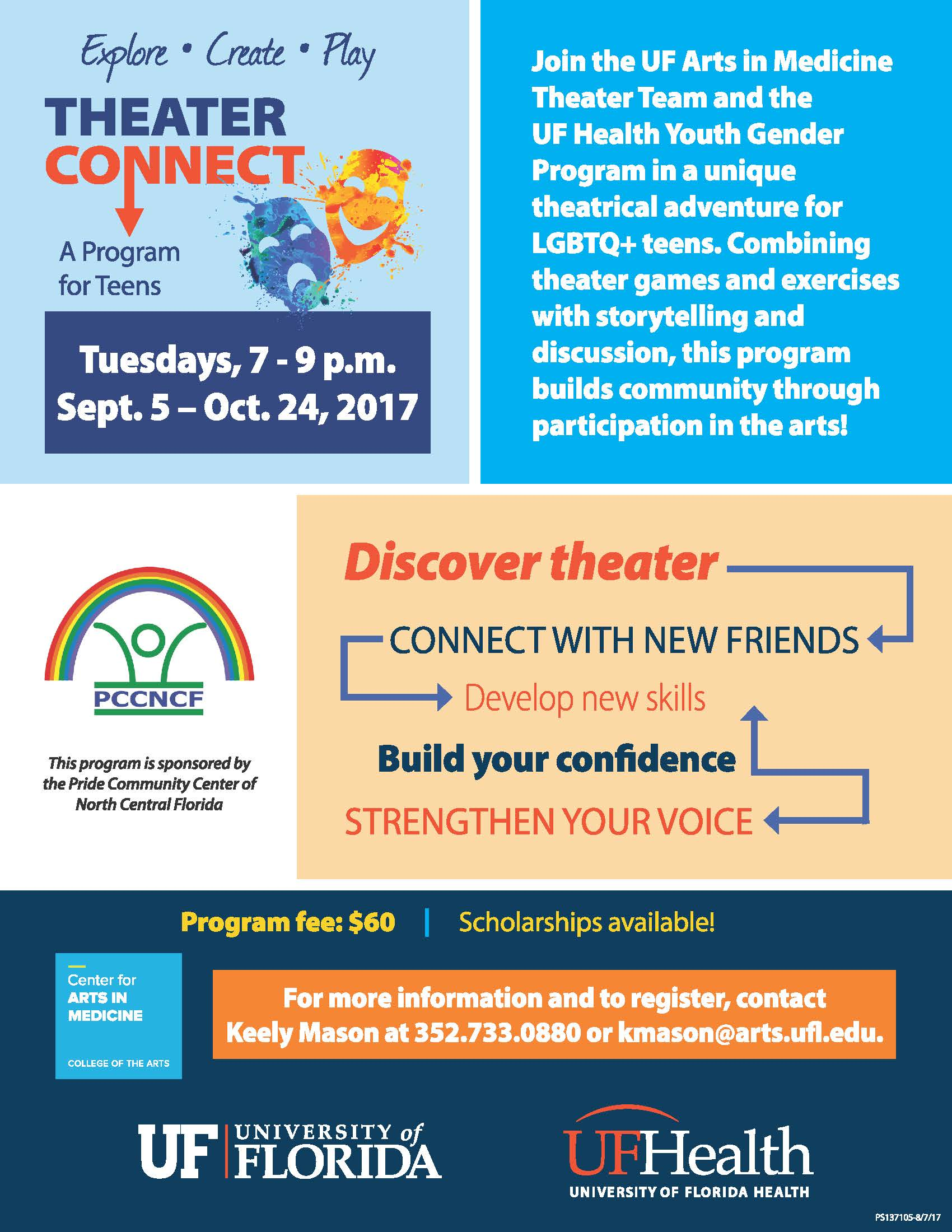 Theater Connect Flyer