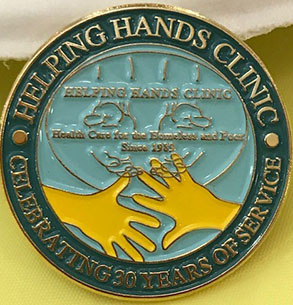 Helping Hands Coin